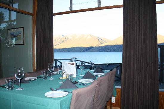 Lake Ohau Lodge: View from dining room
