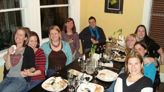 Dinner @ Ambrae House 2012