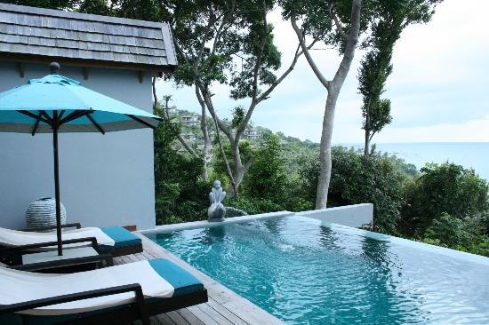 Four Seasons Resort Koh Samui Thailand: Our room and private plunge pool.