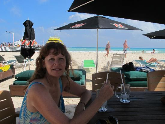 City Express Playa del Carmen: Club de playa