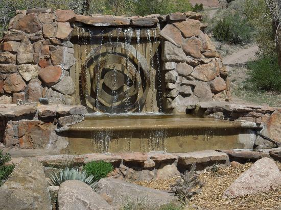 One of many fountains for 369 salon pensacola
