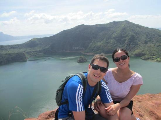 Crater Lake Resort Taal Taal Volcano Crater Lake And