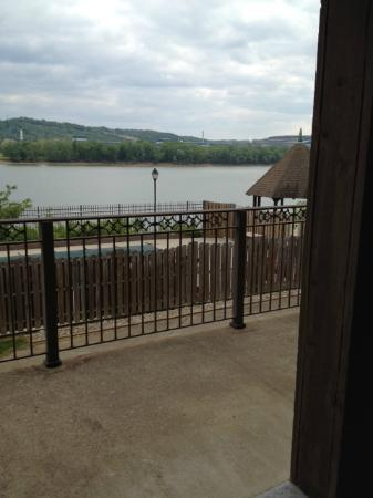 Vevay, IN: Balcony