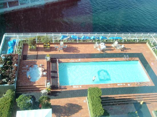 View Of The Pool From Our Room Picture Of Pan Pacific