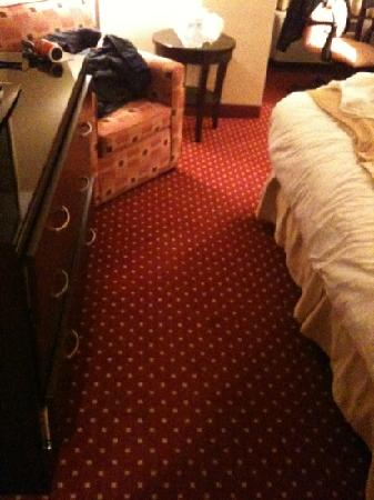 Doubletree by Hilton Hotel Detroit-Dearborn: claustrophobic room