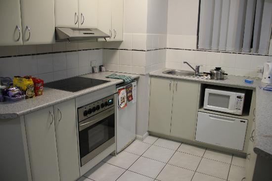 : well equipped kitchen