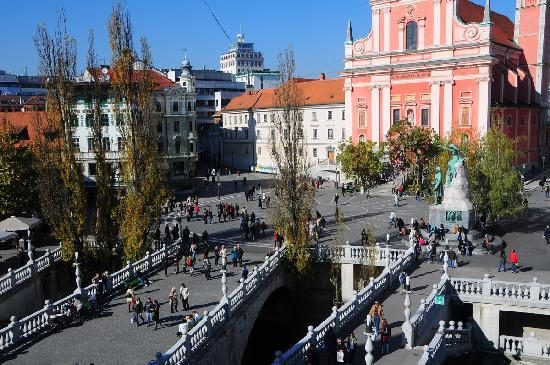 Lubiana, Slovenia: Copyright: Tourism Ljubljana (photo by: Dunja Wedam)