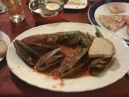 Stockton-on-Tees, UK: Mussels with chilli