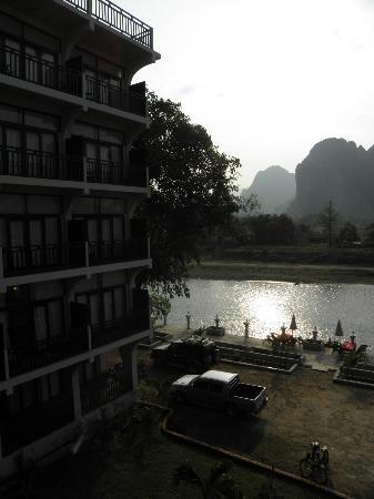 The Unfinished Pool Picture Of Silver Naga Hotel Vang