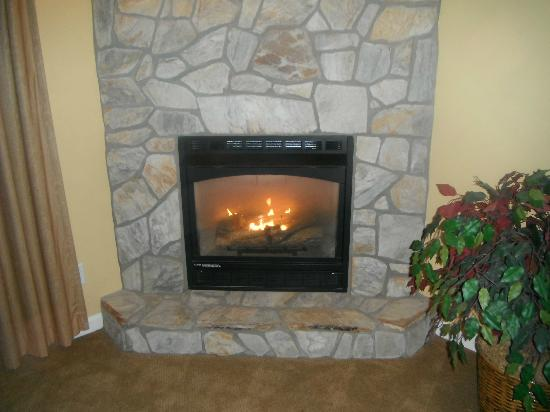 Massanutten Resort: fireplace