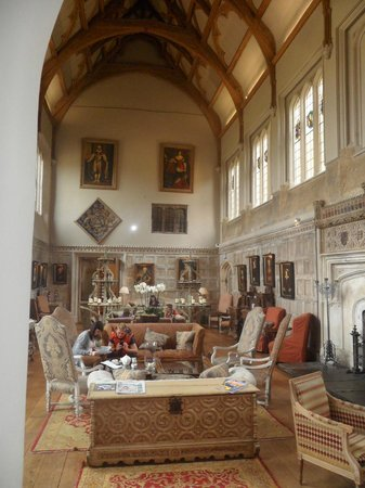 ‪‪Fawsley Hall‬: Beautiful room‬