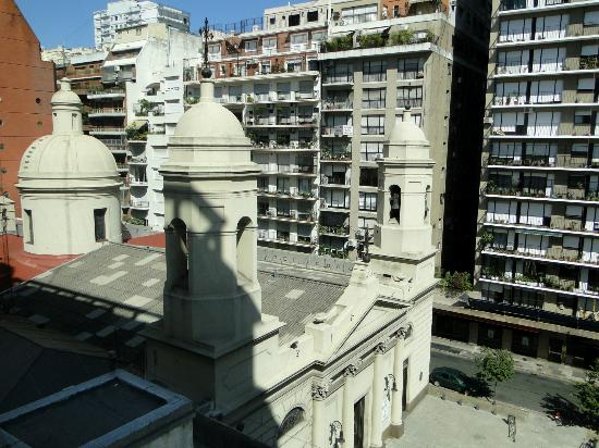 Argenta Tower Hotel and Suites: View from our room