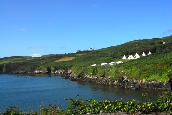 Cape Clear Island, Irland: Yurts and Tipis