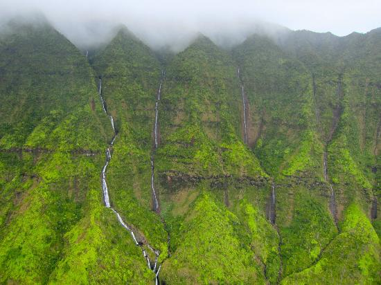 Kauai Waterfalls  Picture Of Mauna Loa Helicopters Private Tours Lihue  Tr