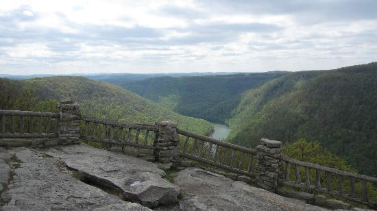 View From The Overlook Picture Of Coopers Rock State