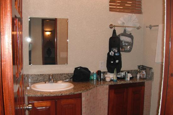 Mayan Princess Beach & Dive Resort: bathroom with walk-in shower
