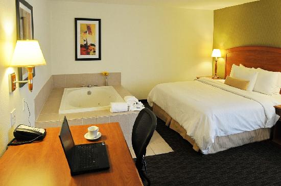Best Western Plus Denver International Airport Inn & Suites: Jacuzzi King Room