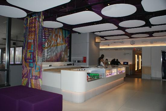Main Lobby On The 4th Floor Picture Of Yotel New York At