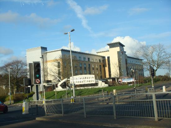 Future Inn Plymouth: view from main road