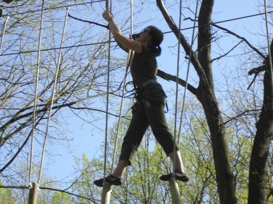 Rockville, MD: Ropes course