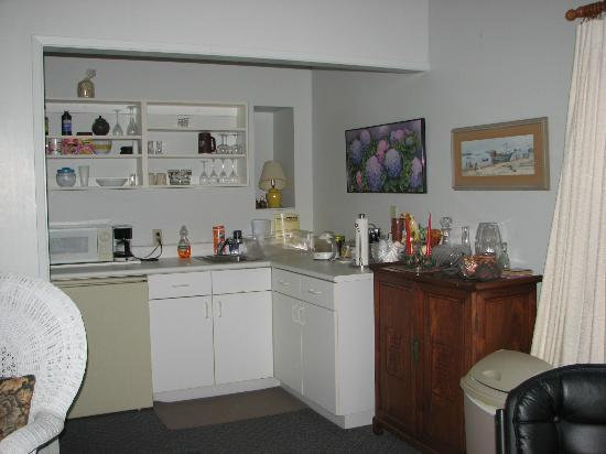 Bed & Breakfast Mountain View: kitchenette