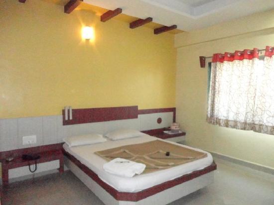 Hotel Ashoka Executive:Room no 204. double AC