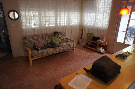 Living Room With Futon Picture Of Coqui Del Mar Guest House San Juan Tri