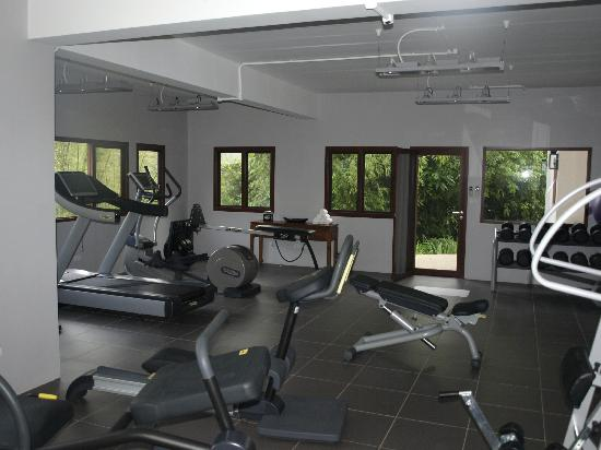 Thanyamundra Organic Resort: Section of the Gym