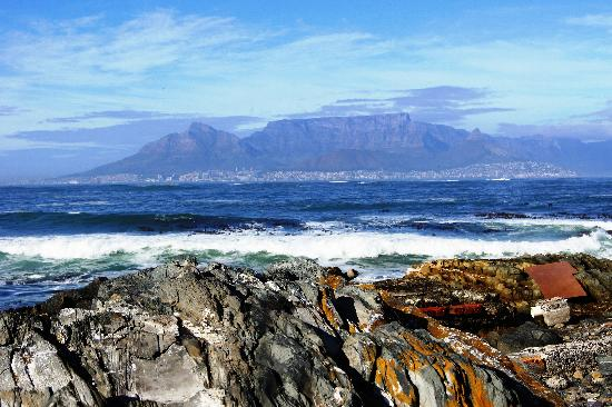 South Africa: Cape Town, view from Robben Island