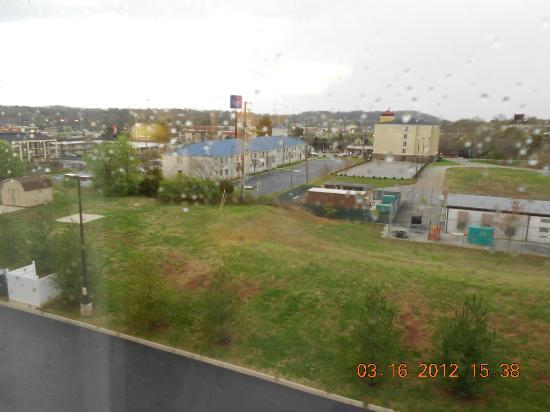 Hampton Inn Knoxville North: View from Room