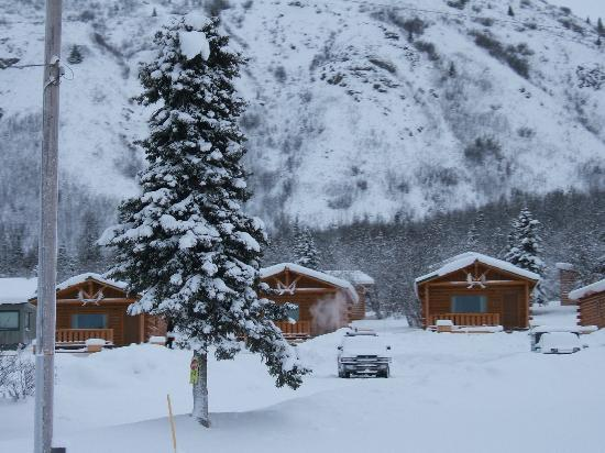 Sheep Mountain Lodge cabins