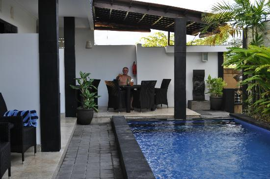 Legian Guest House: From the foor of our room