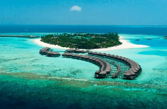Iru Fushi Beach & Spa Resort: Hilton Maldives Aria View