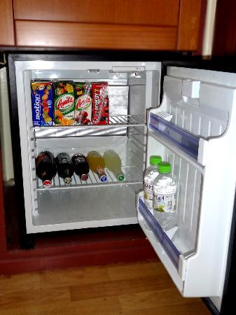 Philippos Hotel: Mini Fridge