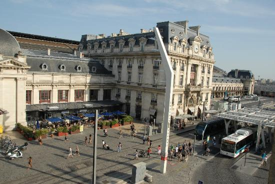 That 39 s the railway station barely 200m away picture of for Hotels near bordeaux france