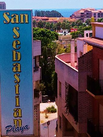Hostal San Sebastian: vista desde la terraza