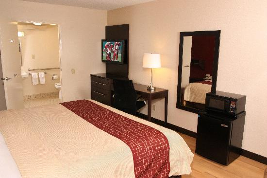 Red Roof Inn Washingtonn DC - Manassas: ADA Accessible King