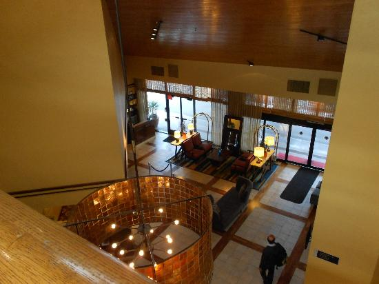 The Beverly Heritage Hotel: view from second floor