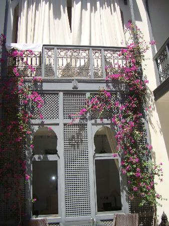 Riad Adore: From the courtyard