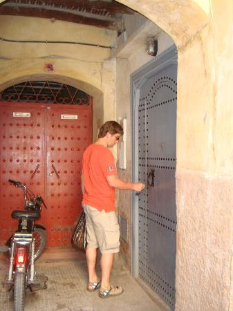 Riad Adore front door