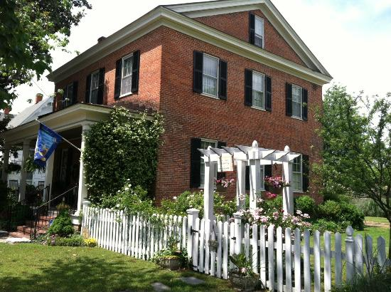 , : The historic 1853 Harney House where tea is served and the tour starts.
