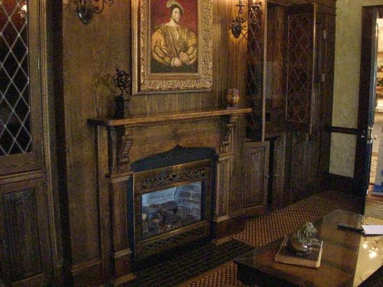 English Tudor Room Fireplace Picture Of The Chanler At