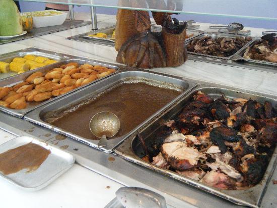 Grand Bahia Principe Jamaica: Jerk chicken at the jerk centre on the ...