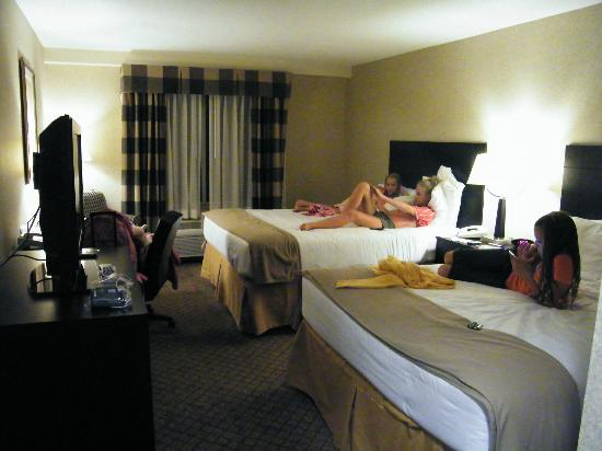 Holiday Inn Express Hotel & Suites Halifax Airport: the most comfiest beds