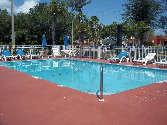 Super 8 St. Petersburg / Clearwater Int Airport: Pool! Cold and clean!