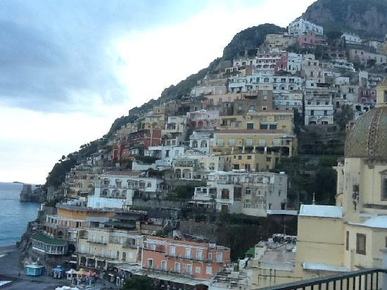 Hotel Buca di Bacco: View from our balcony