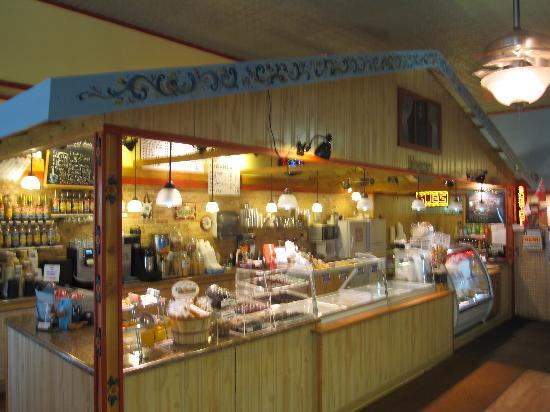 Westby, WI: inside of Ole &amp; Lena&#39;s