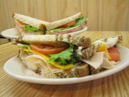 Westby, WI: Sandwich at Ole &amp; Lena