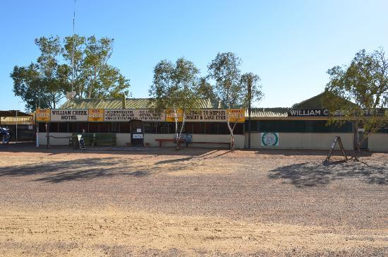 Zuid-Australi, Australi: Genuine outback Australian pub - The William Creek Hotel