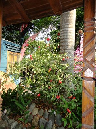 Nightland Cabins at JadeSeahorse: Flowers